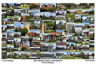 Delaware State University Campus Art Prints Photos Posters