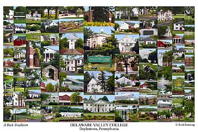 Delaware Valley College Campus Art Prints Photos Posters