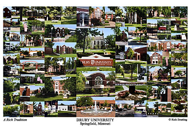 Drury University Campus Art Prints Photos Posters