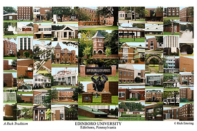 Edinboro University Campus Art Prints Photos Posters
