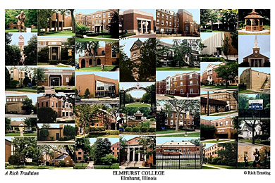Elmhurst College Campus Art Prints Photos Posters