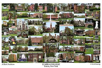 Elmira College Campus Art Prints Photos Posters