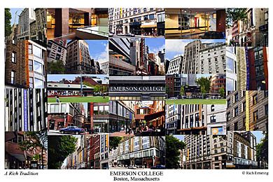 Emerson College Campus Art Prints Photos Posters