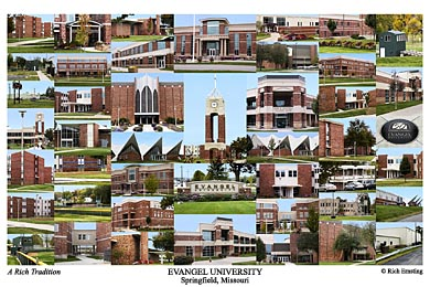 Evangel University Campus Art Prints Photos Posters
