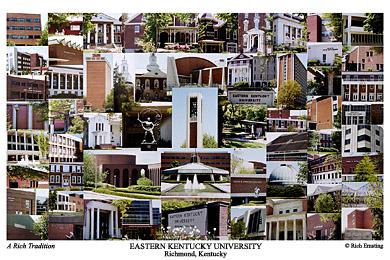 Eastern Kentucky University Campus Art Prints Photos Posters