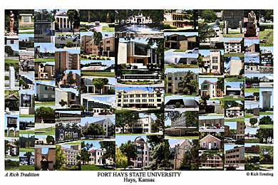 Fort Hays State University Campus Art Prints Photos Posters