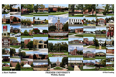 Friends University Campus Art Prints Photos Posters