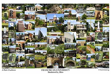 Franciscan University Of Steubenville Campus Art Prints