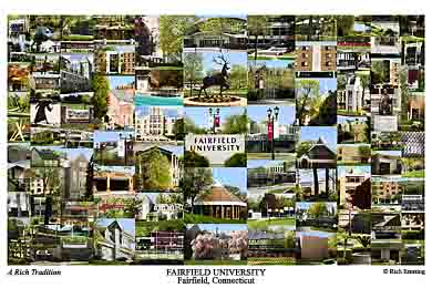 Fairfield University Campus Art Prints Photos Posters