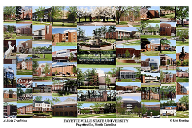 Fayetteville State University Campus Art Prints Photos