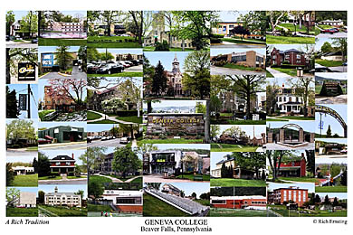 Geneva College Campus Art Prints Photos Posters