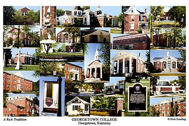 Georgetown College Campus Art Prints Photos Posters