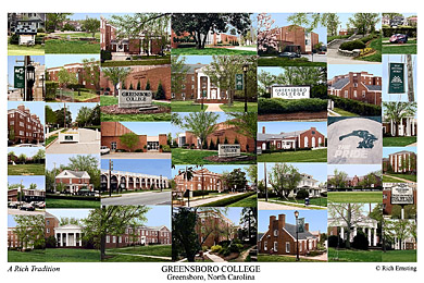 Greensboro College Campus Art Prints Photos Posters