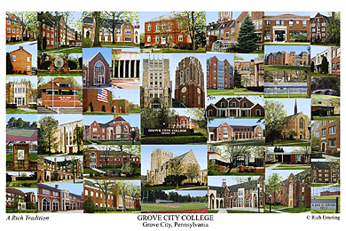Grove City College Campus Art Prints Photos Posters