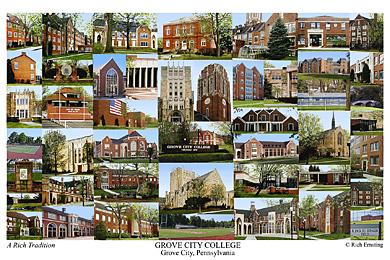 Grove City College Campus Art Prints Photos Posters