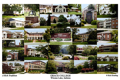 Grace College Campus Art Prints Photos Posters