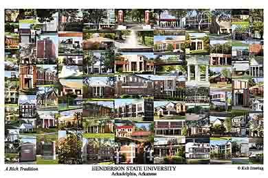 Henderson State University Campus Art Prints Photos Posters