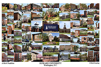 Howard University Campus Art Prints Photos Posters