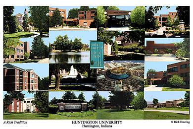 Huntington University Campus Art Prints Photos Posters