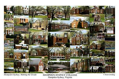 Hampden Sydney College Campus Art Prints Photos Posters