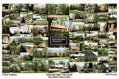 Haverford College Campus Art Prints Photos Posters