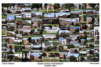 Idaho State University Campus Art Prints Photos Posters