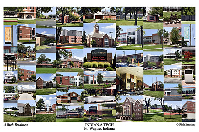 Indiana Tech Campus Art Prints Photos Posters