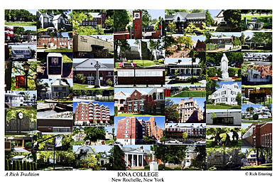 Iona College Campus Art Prints Photos Posters