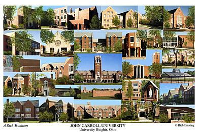 John Carroll University Campus Art Prints Photos Posters