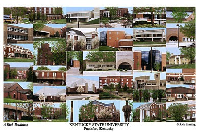 Kentucky State University Campus Art Prints Photos Posters