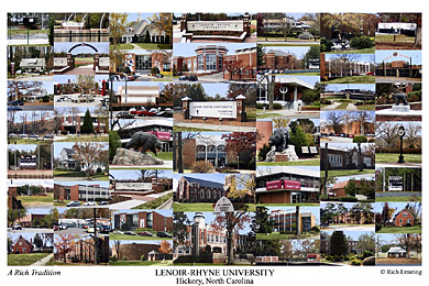 Lenoir Rhyne College Campus Art Prints Photos Posters