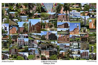 Loras College Campus Art Prints Photos Posters