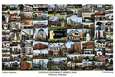 Loyola University Maryland Campus Art Prints Photos Posters
