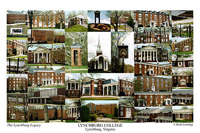 Lynchburg College Campus Art Prints Photos Posters