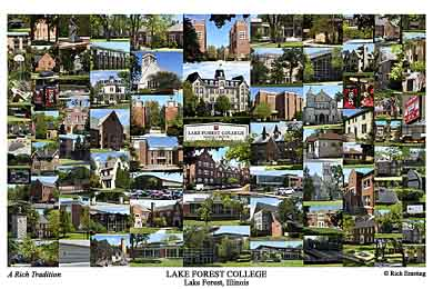Lake Forest College Campus Art Prints Photos Posters