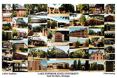 Lake Superior State University Campus Art Prints Photos