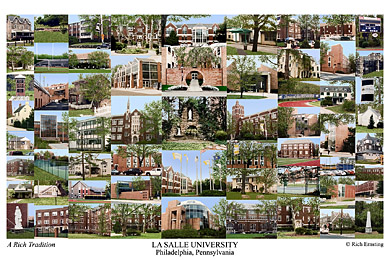 Lasalle University Campus Art Prints Photos Posters