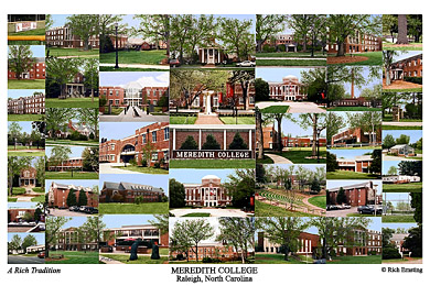 Meredith College Campus Art Prints Photos Posters