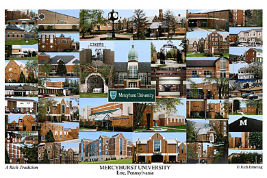 Mercyhurst University Campus Art Prints Photos Posters
