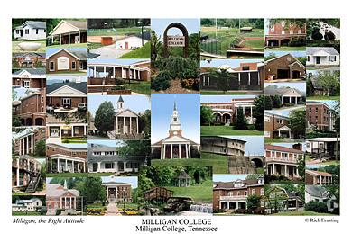 Milligan College Campus Art Prints Photos Posters
