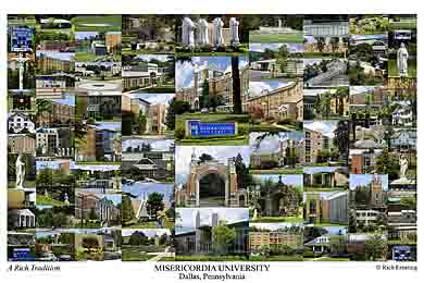 Misericordia University Campus Art Prints Photos Posters