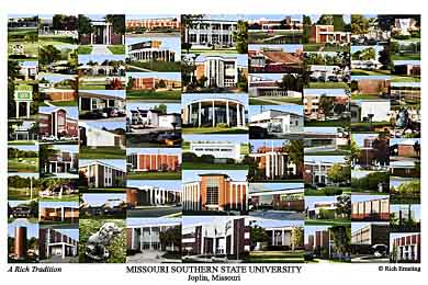Missouri Southern State University Campus Art Prints