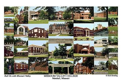 Missouri Valley College Campus Art Prints Photos Posters