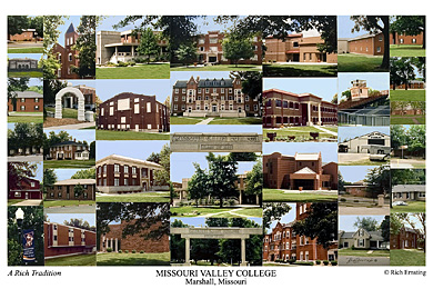 Missouri Valley College Campus Art Prints Photos Posters