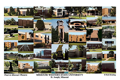 Missouri Western State University Campus Art Prints