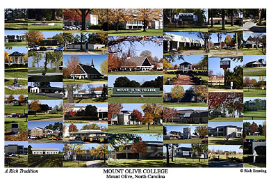 Mount Olive College Campus Art Prints Photos Posters