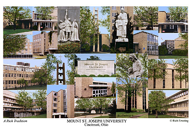 Mount St Joseph University Campus Art Prints Photos Posters