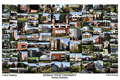 Murray State University Campus Art Prints Photos Posters