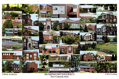 Muskingum University Campus Art Prints Photos Posters