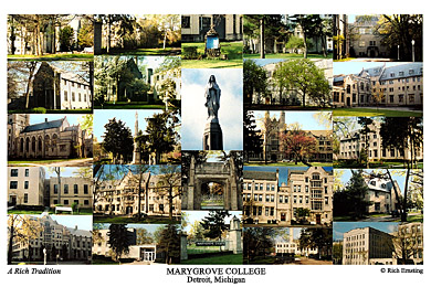 Marygrove College Campus Art Prints Photos Posters